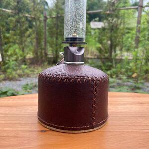 【B級品】ガス缶カバー OD缶カバー 250 ヌメ革 ラセッテーレザー