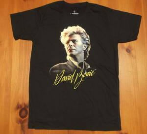 新品【David Bowie】デヴィッドボウイ プリント Tシャツ M // ロックTシャツ Let's Dance バンドTシャツ