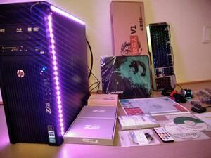 限定超爆12コア /5G Wi-Fiトリプル/4K同時6画面/ハイエンドゲーミングPC改/ツールソフト/新大容量SSD1TB/32GB/4TB/ブルーレイ/カードリーダ