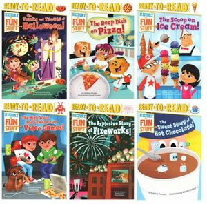 Ready to Readレベル3History Fun Stuff英語絵本6冊