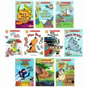 【CD付き】Scholasticリーダー レベル1 英語絵本 10冊