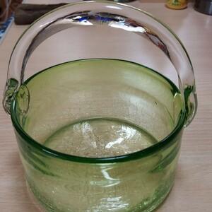 昭和レトロガラスの器