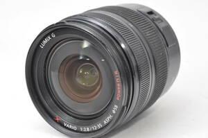 稀少なジャンク品 パナソニック Panasonic LUMIX G X VARIO 12-35mm F2.8 ASPH. POWER O.I.S. H-HS12035 ♯A869