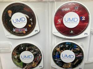 PSP PSPソフト ソフト プレイステーションポータブル 4個セット