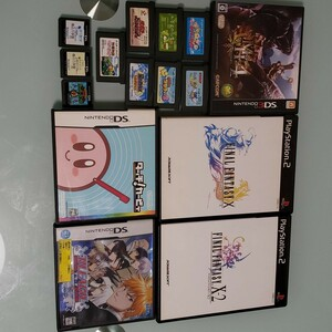 PS2、DS、3DS、アドバンス 各ソフトセット