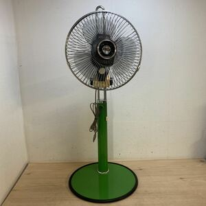 C357★希少 三菱電機 P30-GL2 レール扇 アンティーク 扇風機 / 昭和 レトロ アンティーク 動作確認済み