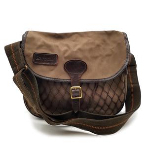 送料無料 バブアー Barbour ショルダーバッグ 鞄 斜め掛け アーントン ARNTON 茶 ブラウン系 メンズ レディース