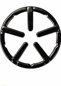 パール金属(PEARL METAL)五徳 ブラック 外径14cm 鉄鋳物製ミニ ホーロー加工 フェール HB-4198 新品