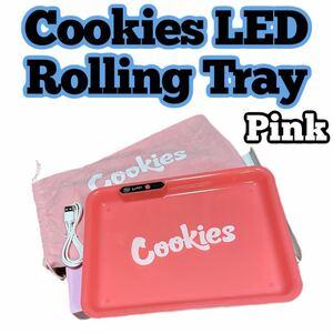 ★数量限定★ Cookies LED ローリングトレイ Tray 巻きタバコ 葉巻