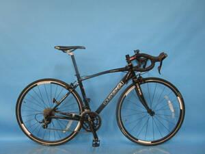 即決 ☆大阪西淀☆ LOUIS GARNEAU LGS-CEN アルミフレーム ロードバイク 700C 2×9 ルイガノ シマノ SORA 中古 自転車 S28