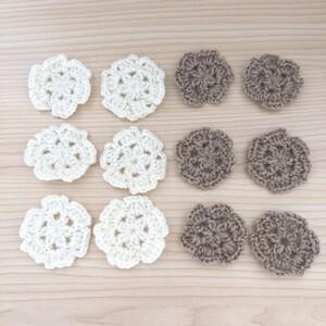 モチーフ編み ハンドメイド