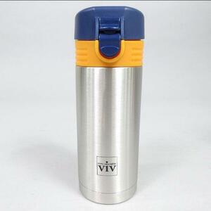 新品★ViV ワンタッチオープン ボトル 300ml★ 保温・保冷 水筒 ステンレス製携帯まほう瓶  アウトドア