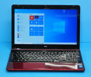 ★ 良品 上位モデル LaVie LS350/NSR ★ Core i3 4000M / メモリ8GB / 新品SSD:240GB / Blu-ray / カメラ / テンキー / Office2019 / Win10
