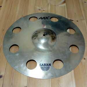 SABIAN AAX O-ZONE CRASH 18 セイビアン クラッシュシンバル