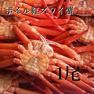 【北海道産】紅ズワイ蟹姿 1尾500g 冷凍 ボイル 母の日 父の日 お中元 お歳暮 ギフト GW ズワイガニ 蟹 かに