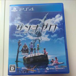 PS4ゲームソフト ザンキゼロ ZANKI∞ZERO