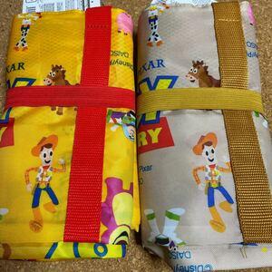 トイストーリー ショッピングバッグ エコバッグ ディズニー ピクサー レジバッグ レジカゴバッグ 2個セット