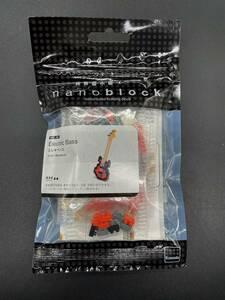 〓ナノブロック〓エレキベース NBC_051 Electric Bass 楽器 @カワダ Kawada nanoblock 知育玩具