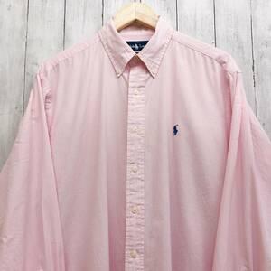 ラルフローレン POLO Ralph Lauren Polo 長袖シャツ メンズ ワンポイント Lサイズ 7-215
