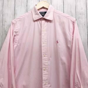 ラルフローレン POLO Ralph Lauren Polo 長袖シャツ メンズ ワンポイント サイズ15 1/2(Mサイズ相当) 7-222