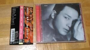 レスリー・チャン 張國榮 レッド 紅 RCCA-2007 日本盤