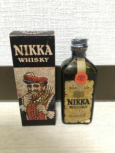 ニッカ 初代ブラックニッカ 50ml ミニチュアボトル ウイスキー 箱入り