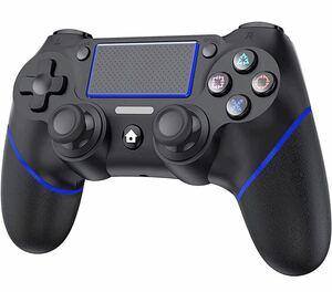 PS4 コントローラー 無線 【アップグレード版】 ワイヤレス コントローラー Bluetooth接続 600mAh大容量