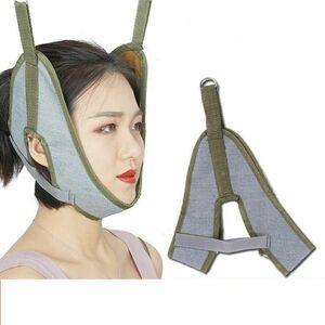 LDL2111 # Cervical Barbel Belt Neck Stretcher Band Medical Vertebral Recovery Health Care