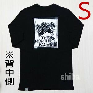 THE NORTH FACE ノースフェイス 長袖 ロンT ロング tシャツ ブラック 黒 ストロークマウンテン 海外Sサイズ