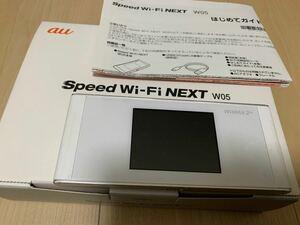WiMAX2 SPEED Wi-Fi モバイルルーター w05