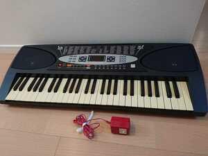 Sun Ruck サンルック 電子キーボード 鍵盤楽器 SR-DP01 光鍵盤機能 54鍵盤 プレイタッチフラッシュ54 電子ピアノ 【ジャンク扱い】