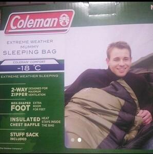 コールマン ノースリム寝袋