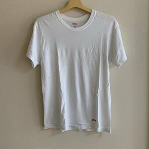 中古 Supreme Hanes Tagless Tee White S シュプリーム ヘインズ ホワイト Tシャツ S