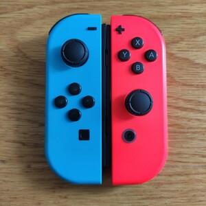 Nintendo Switch Joy-Con ジョイコン ネオンレッド ネオンブルー 左右セット