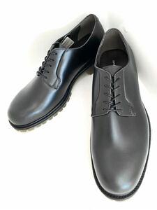 管理85 マドラス 日本製 新品 25㎝ madras ビジネス シューズ メンズ 革靴 レザー 未使用 送料無料 カジュアル プレーントゥ ブラック 黒