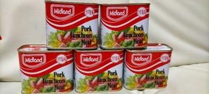 【ミッドランド】★ポーク ランチョン ミート★300g×5缶★ Midland Pork Luncheon Meat【内容量】300g×5缶