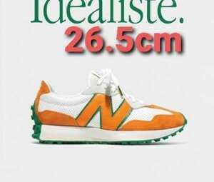 [26.5cm]CASABLANCA NEW BALANCE 327 WHITE ORANGE カサブランカ ニューバランス 327 ホワイト オレンジ US8.5