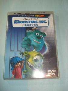 [送料込 即決] Disney PIXAR MONSTERS,inc ディズニー モンスターズインク DVD USED