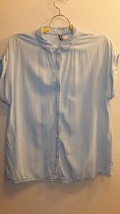 ★H&M★エイチアンドエムレディーストップスシャツ Ladies Tops Size 12 サイズ12  USED IN JAPAN EUR42