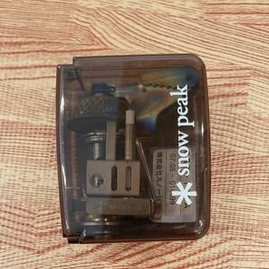 スノーピーク ギガパワー マイクロ マックス 廃盤 GST-110A