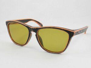 レンズ組換品 オークリー フロッグスキン 偏光サングラス OO9245 シャドーイエロー ブラック オレンジ/シルバー OAKLEY 日本製偏光レンズ