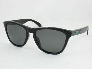 レンズ組換品 オークリー フロッグスキン 偏光サングラス OO9245 ダークグレー ブラック/グリーン OAKLEY 日本製偏光レンズ