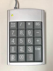 サンワサプライ テンキーボード USBハブ