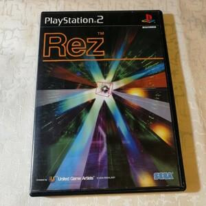 PS2 Rez プレイステーション2 ゲームソフト