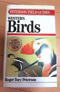 野鳥図鑑 Peterson Field Guide Western Birds ◆ Roger Tory Peterson ◆希少 洋書 バードウオッチング
