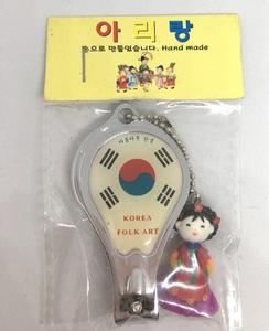 ※未使用品※ 韓国の手作り 爪切り 民芸品 2