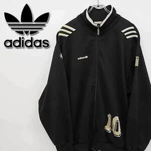古着 90s アディダス サッカーチーム 刺繍 ジャージ トラックジャケット