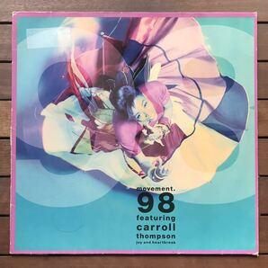 〓3枚同時購入で600円割〓 【r&b】Movement 98 feat Carroll Thompson / Joy And Heartbreak[12inch]オリジナル盤《2-1-41 9595》