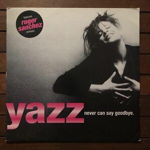 ●【r&b】Yazz / Never Can Say Goodbye[12inch]オリジナル盤《O-14 9595》