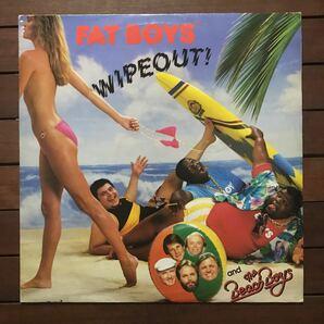 ●【r&b】Fat Boys And The Beach Boys / Wipeout![12inch]オリジナル盤《O-174 9595》